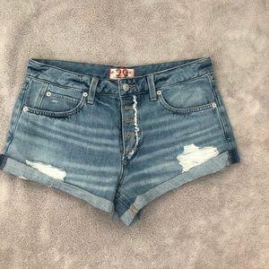 Free People Romeo cutoff shorts